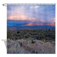 Shasta Sunset #2 Shower Curtain
