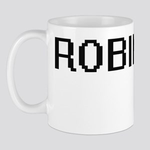 Robinson digital retro design Mug