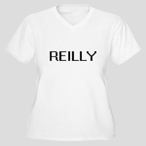 Reilly digital retro design Plus Size T-Shirt