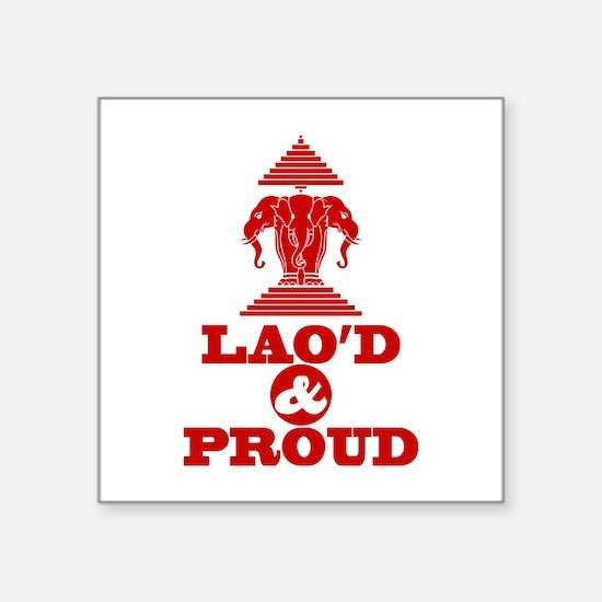 LAO'D & PROUD Sticker