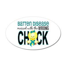 Batten Disease MessedWithWro Wall Decal