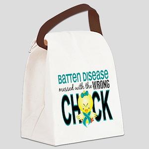 Batten Disease MessedWithWrongChi Canvas Lunch Bag