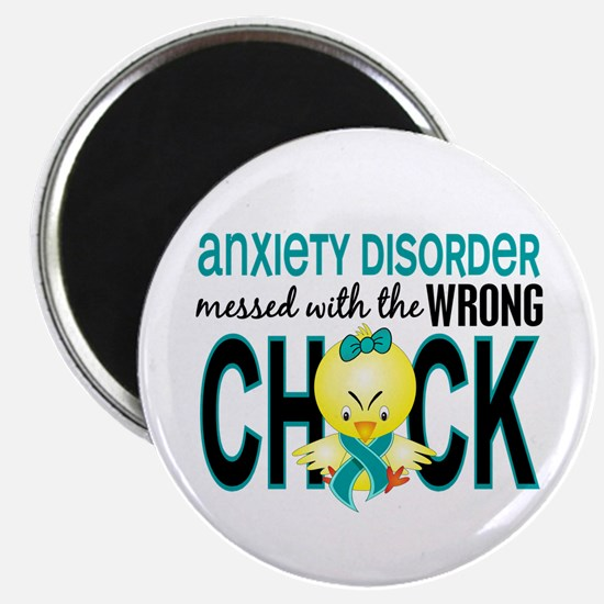 Anxiety Disorder MessedWithWrongChick1 Magnet