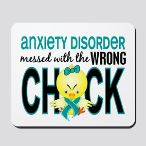 Anxiety Disorder MessedWithWrongChick1 Mousepad