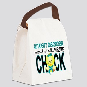 Anxiety Disorder MessedWithWrongC Canvas Lunch Bag
