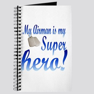 my airman is my super hero Journal