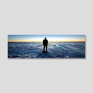 Antarctic Sunset Car Magnet 10 x 3