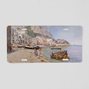 Capri by Antonio Letoio  Aluminum License Plate