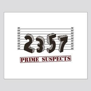 The Prime Number Suspects Posters