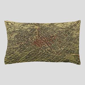 Vintage Map of Atlanta (1892) Pillow Case