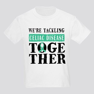 Celiac Disease Ribbon Kids Light T-Shirt