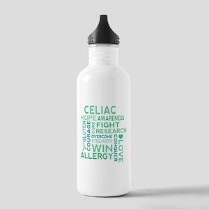 Celiac Awareness Fight Water Bottle