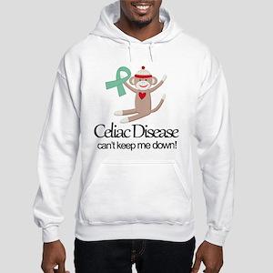 Celiac Disease Ribbon Hooded Sweatshirt