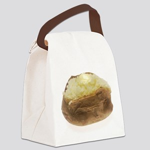 Baked Potato Canvas Lunch Bag