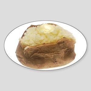 Baked Potato Sticker (Oval)