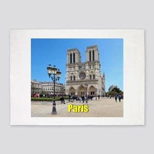 PARIS GIFT STORE 5'x7'Area Rug