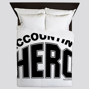 Accounting Hero Queen Duvet
