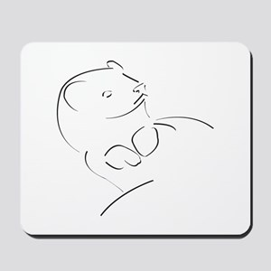 ferret01 Mousepad