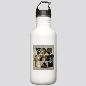 The Mentalist White Stainless Water Bottle 1.0l