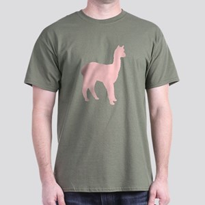 Alpaca (#2 in pink) Dark T-Shirt