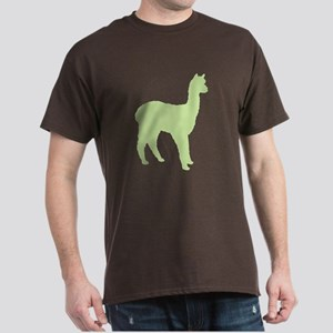 Alpaca (#2 in green) Dark T-Shirt