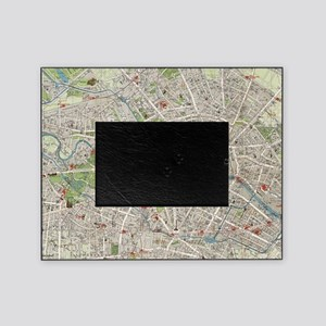 Vintage Map of Berlin Germany (1905) Picture Frame