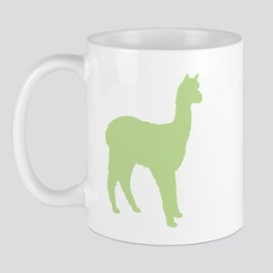 Alpaca (#2 in green) Mug