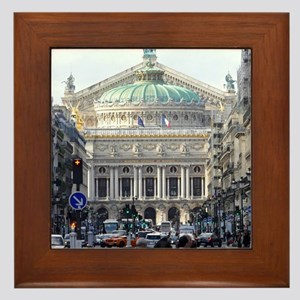 PARIS GIFT STORE Framed Tile
