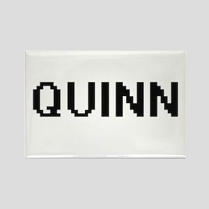 Quinn digital retro design Magnets
