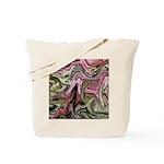 Native American Sage Bloom Tote Bag