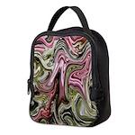 Native American Sage Bloom Neoprene Lunch Bag