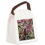 Native American Sage Bloom Canvas Lunch Bag