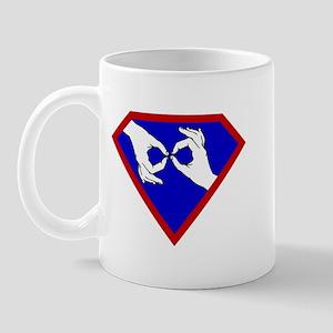 Super ASL Interpreter - Blue Mug