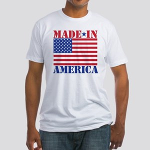 Made in America Fitted T-Shirt