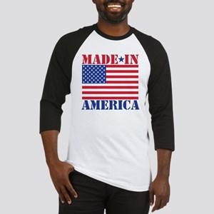 Made in America Baseball Jersey