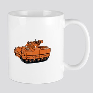 Bradley Tank Mugs