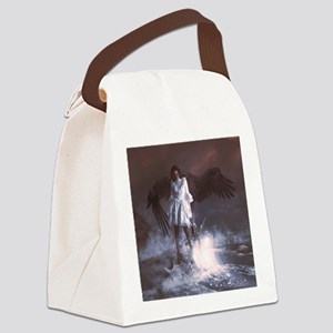 The Last Angel Canvas Lunch Bag