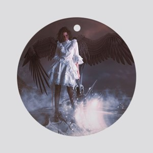 The Last Angel Ornament (Round)