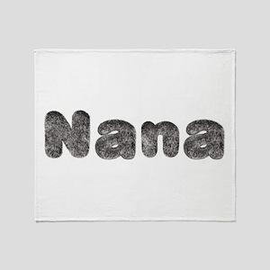 Nana Wolf Throw Blanket