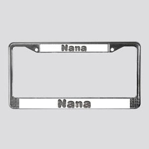Nana Wolf License Plate Frame