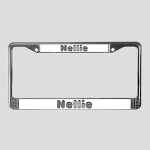 Nellie Wolf License Plate Frame