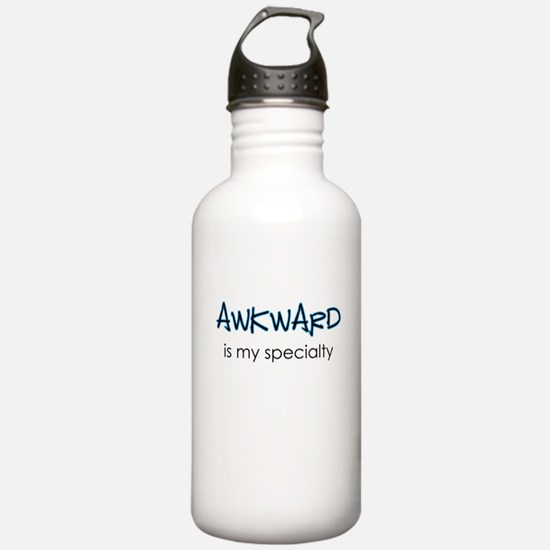 Awkward is my specialty Water Bottle