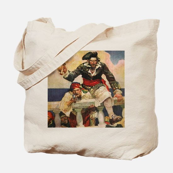 Blackbeard the Buccanneer  Tote Bag