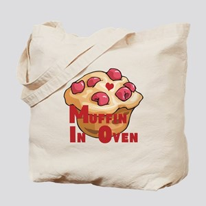 Muffin In Oven Tote Bag