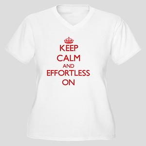 EFFORTLESS Plus Size T-Shirt