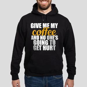 Give Me Coffee Hoodie (dark)