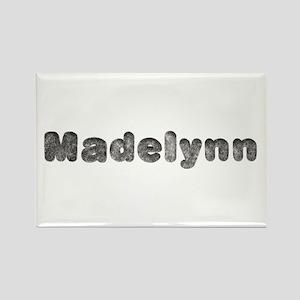 Madelynn Wolf Rectangle Magnet