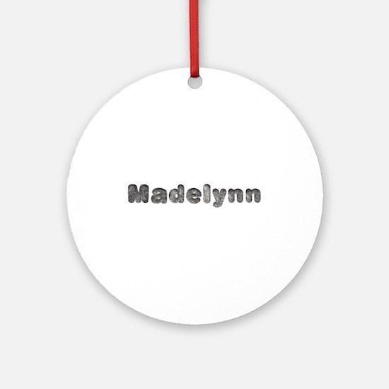 Madelynn Wolf Round Ornament