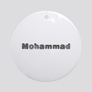 Mohammad Wolf Round Ornament