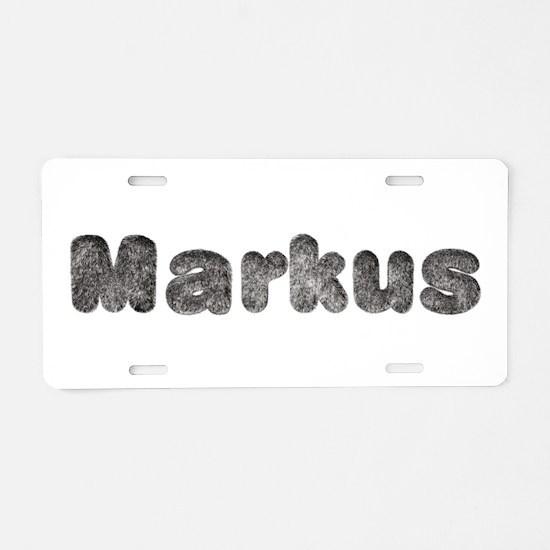 Markus Wolf Aluminum License Plate